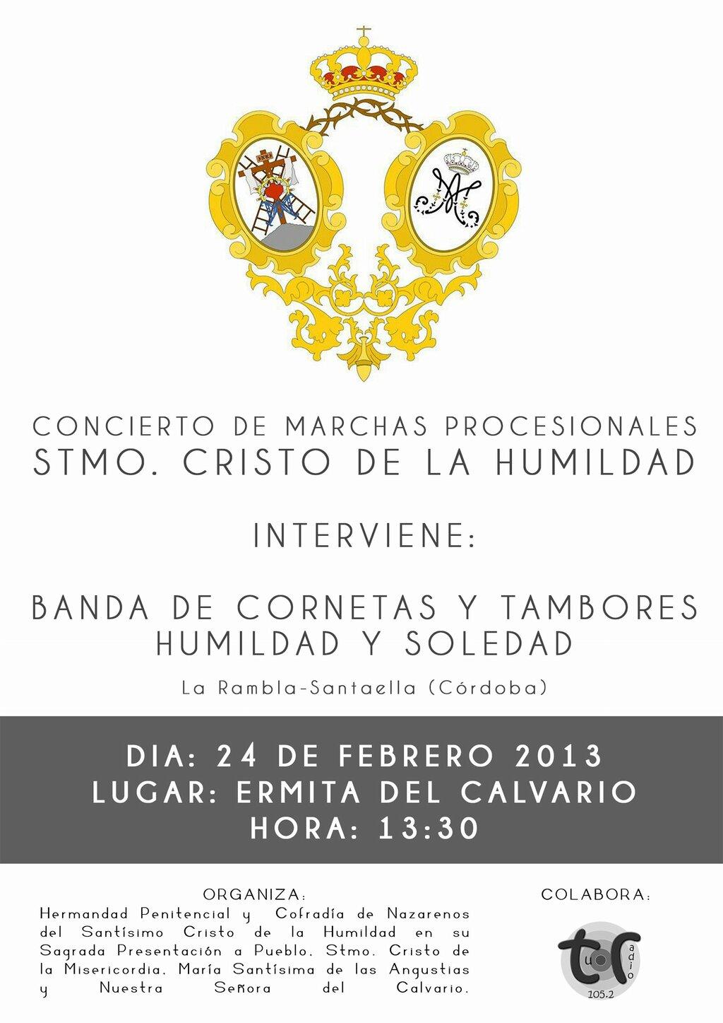 """BDeai3jCUAMfQU1 - Concierto de marchas """"Cristo de la Humildad"""""""