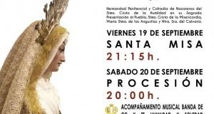 calvario 300x160 - Procesión de Nuestra Señora del Calvario 2014