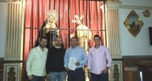 2015 10 24 12.33.36 300x160 - Renovación con la Cofradía del Huerto de Lucena